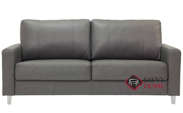 Nico Queen Sofa Bed by Luonto in Leather