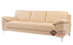 Poet Leather Sofa by Luonto in Labrador 12 (Sideview)