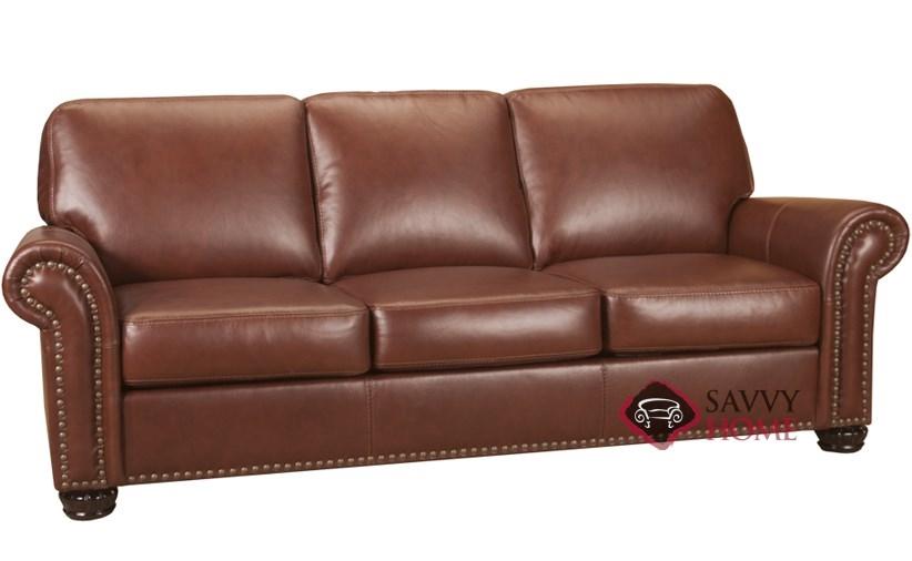 Superior Woodland Leather Sofa