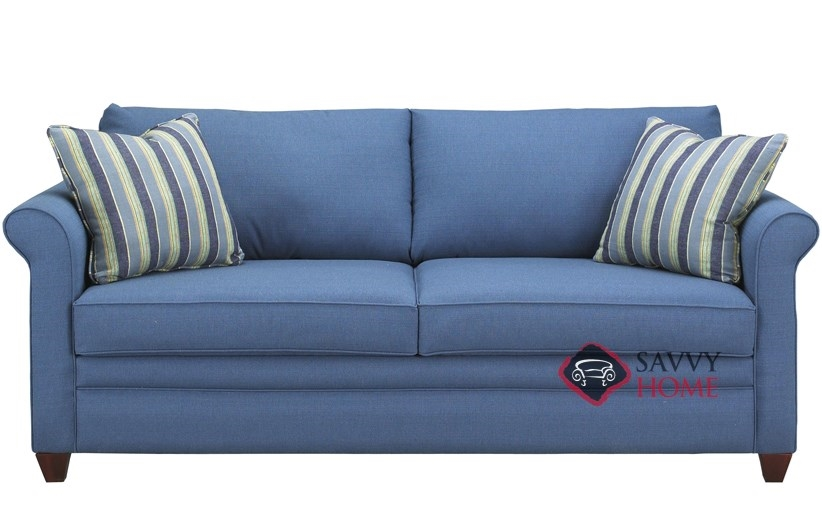 Denver Fabric Stationary Sofa By Savvy