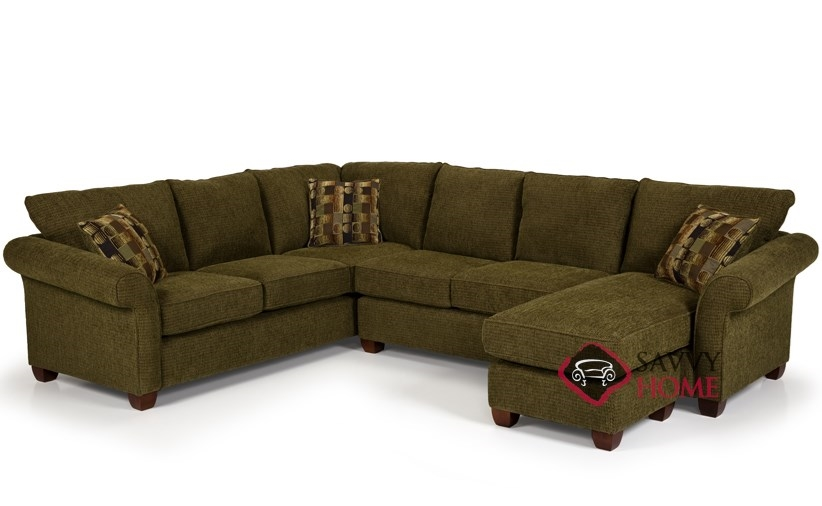 664 Fabric Sleeper Sofas True Sectional by Stanton is Fully ...