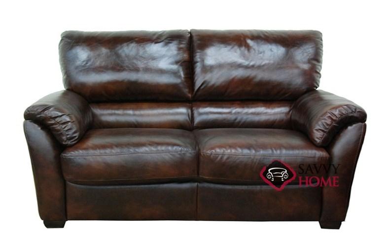 B693 Leather Loveseat