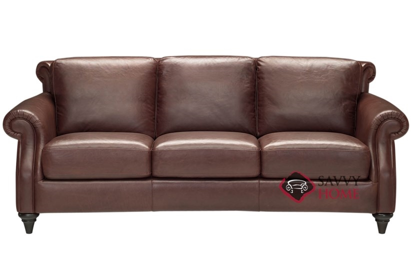 Basento Leather Sofa by Natuzzi Editions (A297-064)