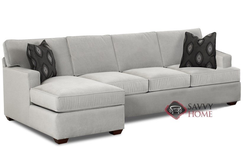Charmant Lincoln Chaise Sectional Sleeper With Queen Bed