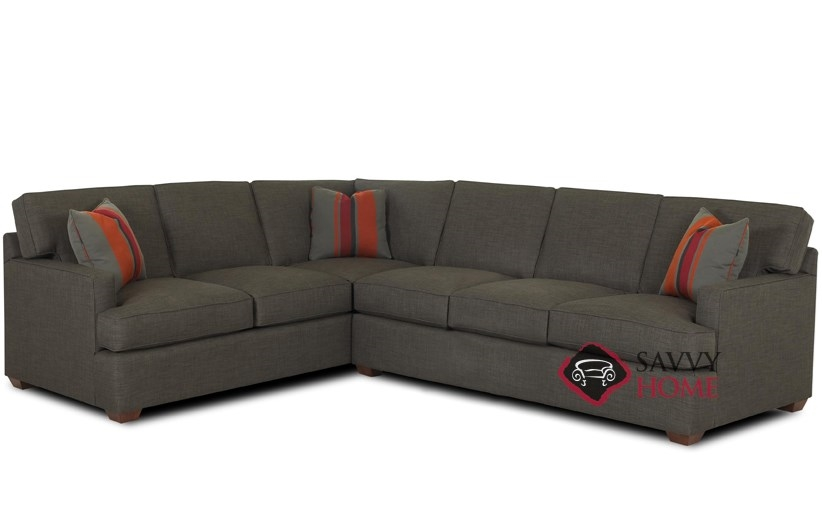 Lincoln True Sectional Queen Sofa Bed by Savvy