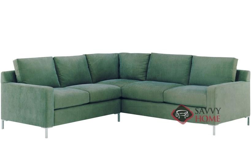 Soho Ii True Sectional With 2 Cushion Queen Sleeper