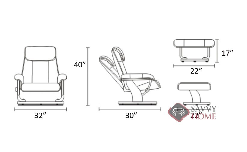 Original ...  sc 1 st  Savvy Home Store & Magic Leather Chair by Stressless is Fully Customizable by You ... islam-shia.org