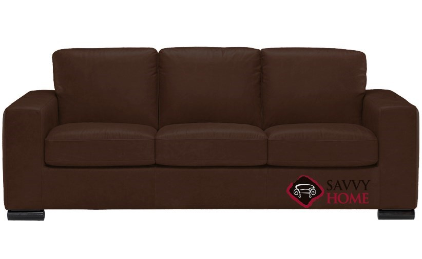 Quick-Ship Rubicon (B534) Leather Sleeper Sofas Queen in Matera ...