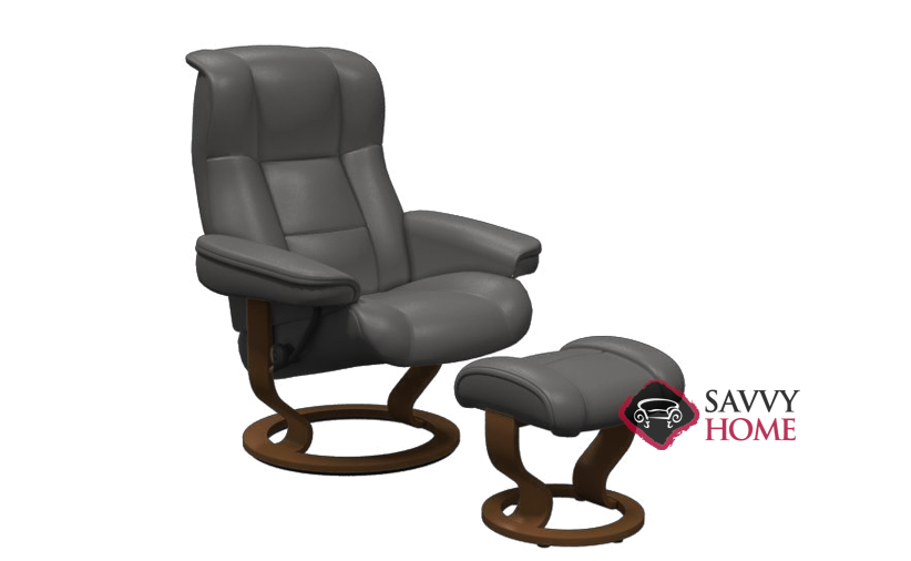Mayfair Leather Reclining Chair By Stressless Is Fully