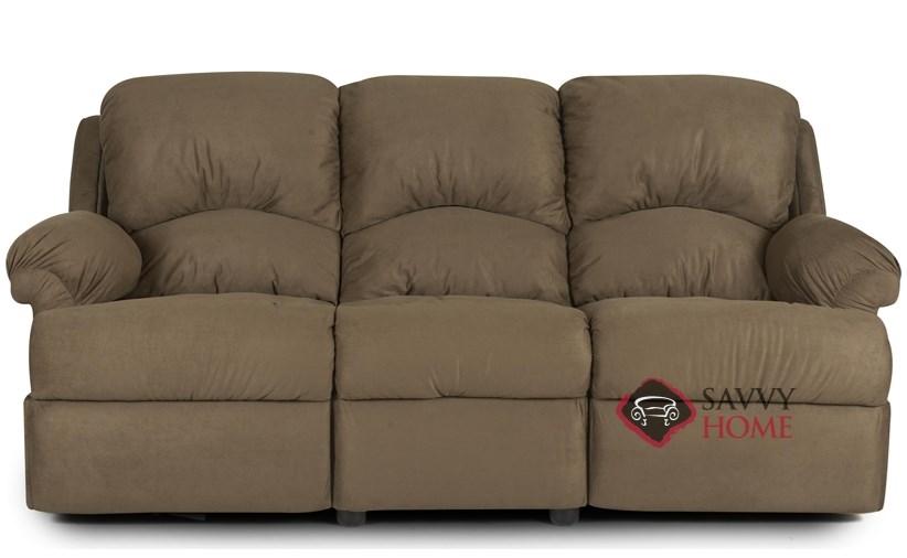 Beautiful Milan Reclining Leather Sofa
