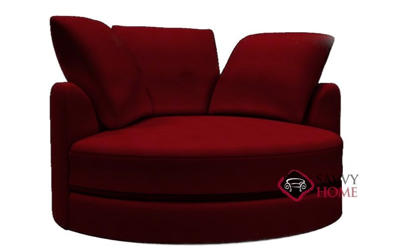 Cuddle Circle Leather Lounge Chair By Lazar Industries