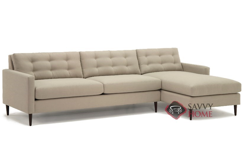 Paramount Chaise Sectional Sofa by Lazar Industries