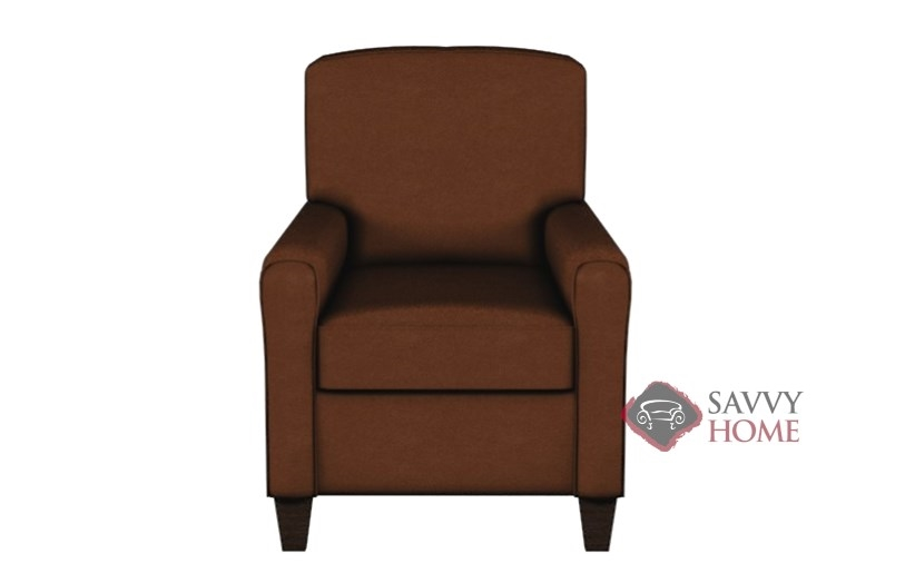 Halifax Leather Reclining Chair By Savvy