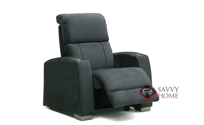 Hifi Home Theater Recliner by Palliser  sc 1 st  Savvy Home Store & Hifi Fabric Reclining Chair by Palliser is Fully Customizable by You ...