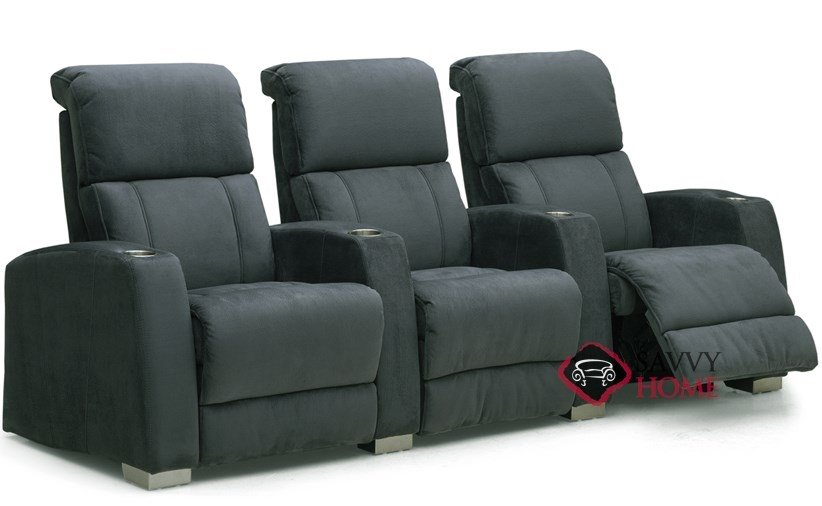 Hifi 3-Seat Reclining Home Theater Seating (Straight) by Palliser--Power  Upgrade Available