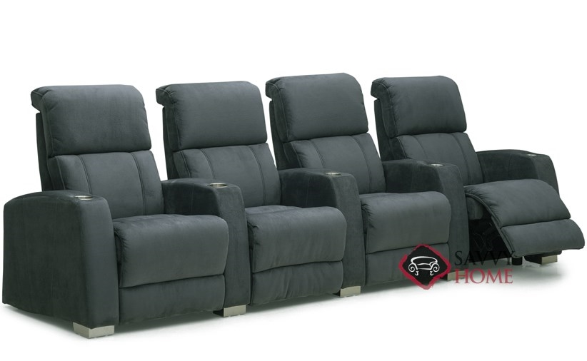 Hifi 4 Seat Reclining Home Theater Seating (Straight) By Palliser
