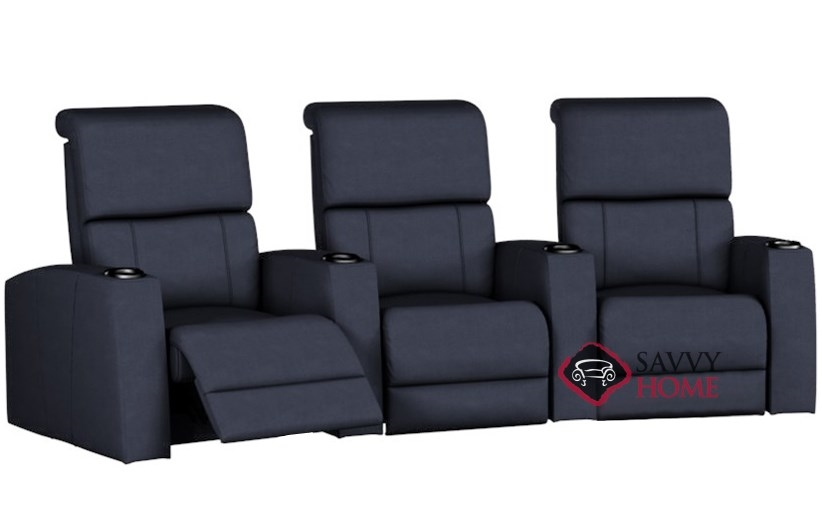 Hifi 3-Seat Reclining Home Theater Seating (Curved) by Palliser--Power  Upgrade Available