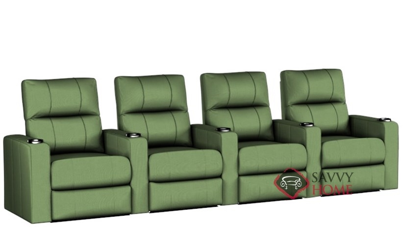 Springfield 4 Seat Reclining Home Theater Seating (Straight)