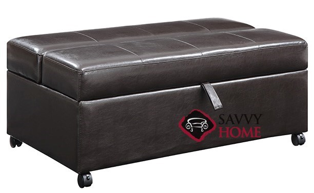Quick Ship Hide A Way By Emerald Fabric Sleeper Sofas Ottoman