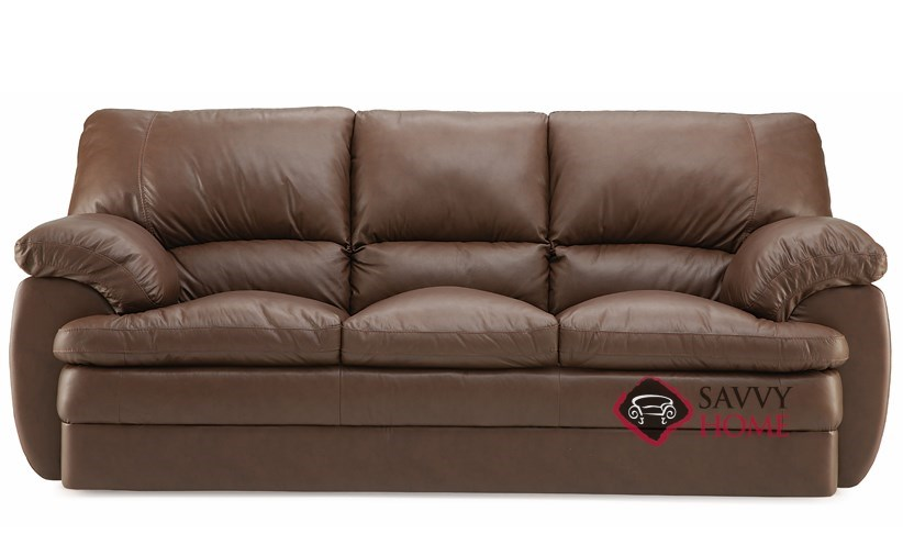 Marcella Leather Stationary Sofa by Palliser is Fully Customizable ...