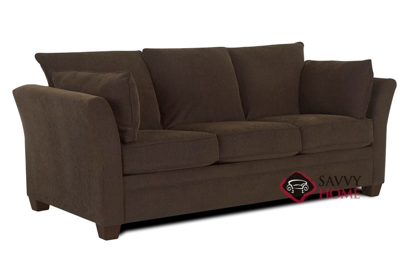 venice fabric sleeper sofas queen by savvy is fully. Black Bedroom Furniture Sets. Home Design Ideas