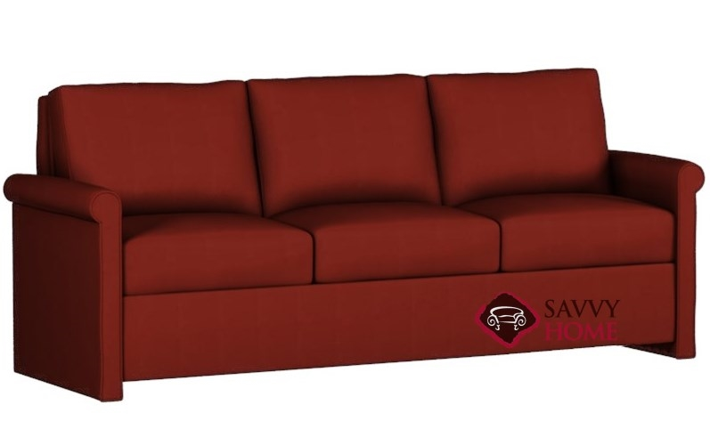 Darby Paragon King Leather Sofa Bed by Lazar Industries--Power Mechanism  Available