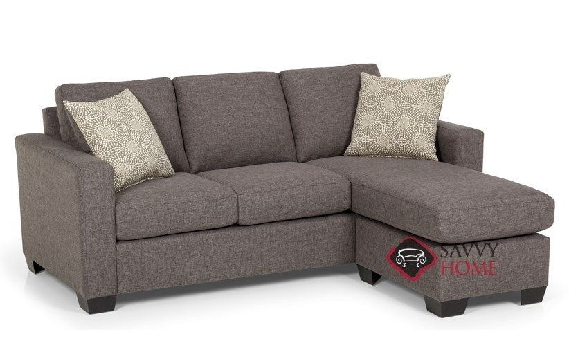702 Fabric Sleeper Sofas Chaise Sectional By Stanton Is Fully Customizable By You