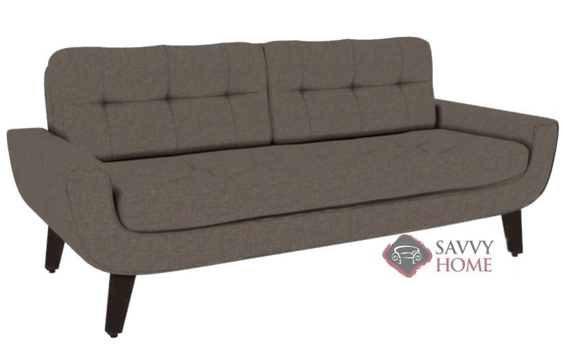 Quick Ship Ava Fabric Stationary Sofa