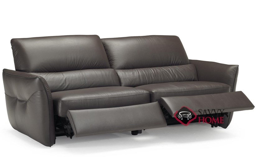 Superieur ... Versa (B842 146) Reclining Leather Sofa By Natuzzi Editions Open ...