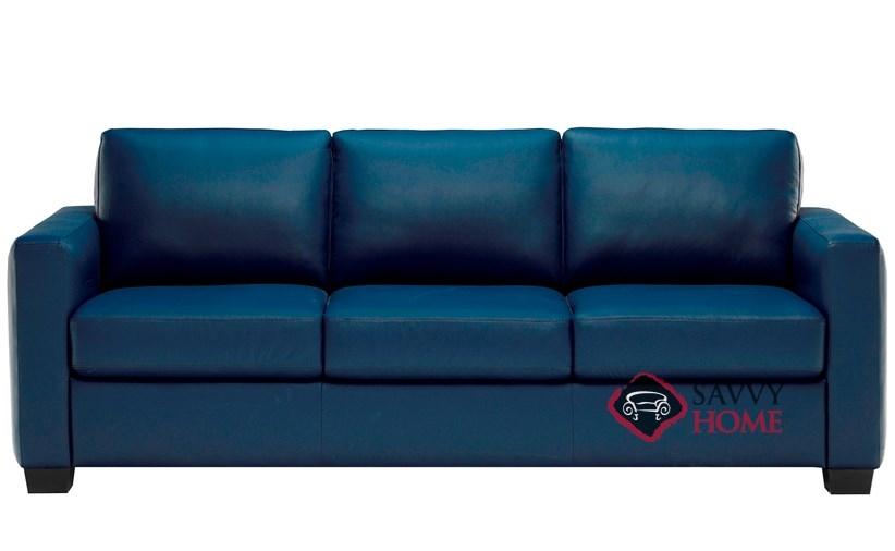 Roya (B735 009) Leather Sofa By Natuzzi Editions