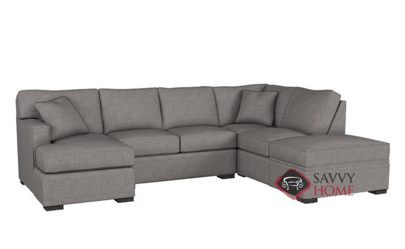Amazing The 146 Dual Chaise Sectional Sofa With Storage By Stanton Andrewgaddart Wooden Chair Designs For Living Room Andrewgaddartcom