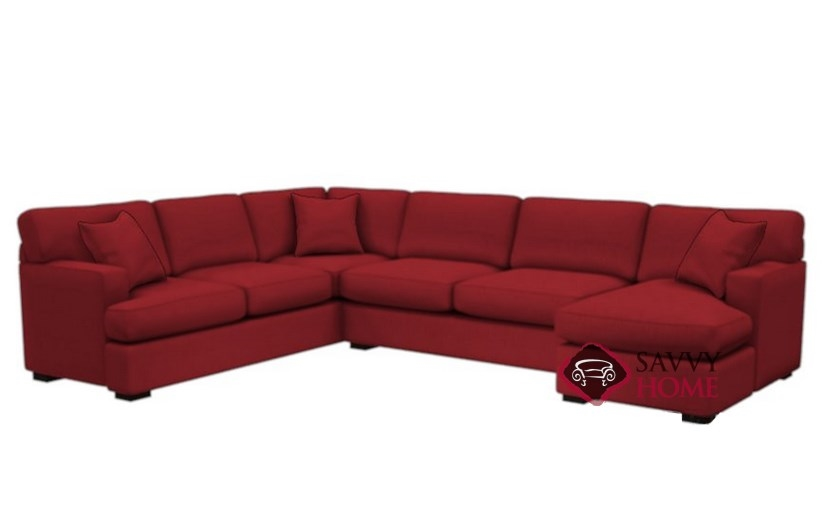 The 146 U-Shape True Sectional Sofa Bed Sofa by Stanton