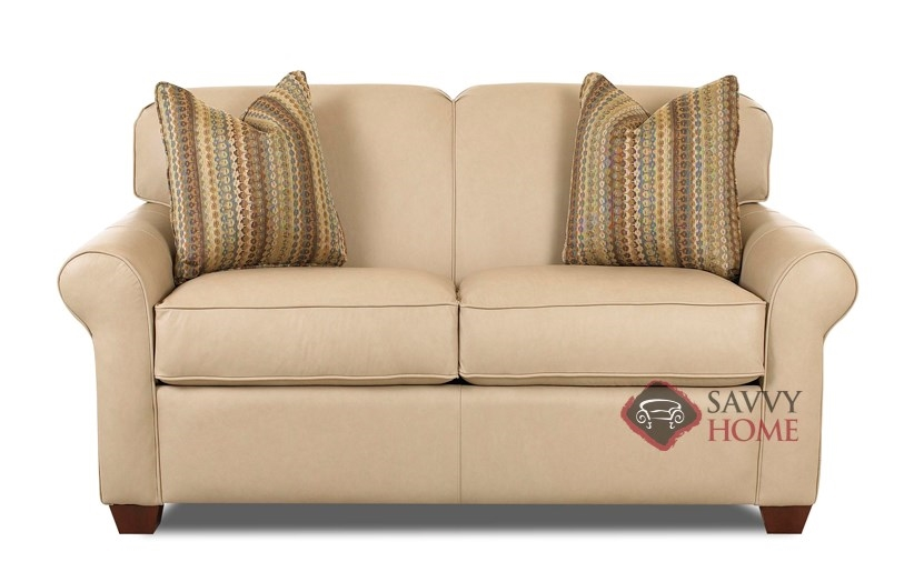 Calgary leather loveseat by savvy is fully customizable by for Leather sectional sofa calgary