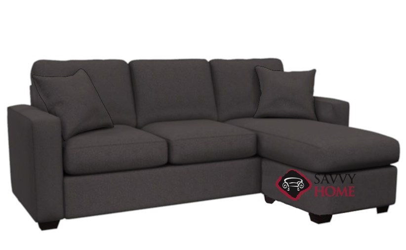 The 702 Chaise Sectional Sofa In Hayden Antelope ...