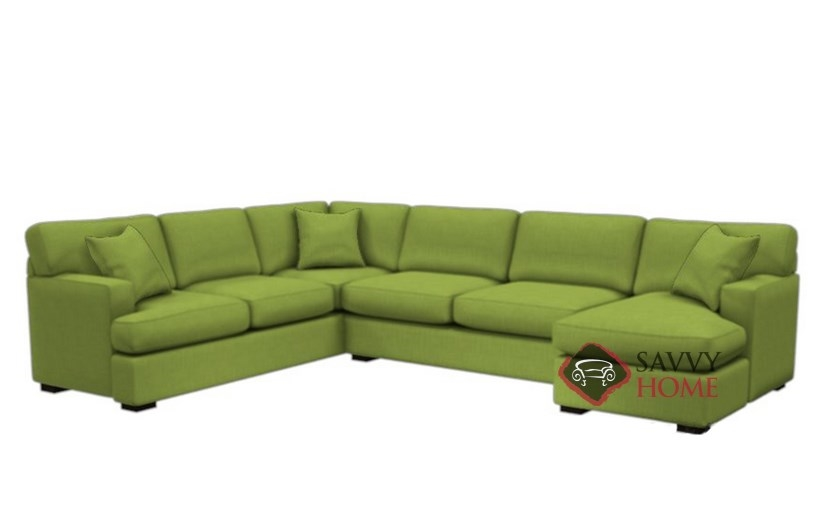 146 Fabric Sleeper Sofas True Sectional by Stanton is Fully ...