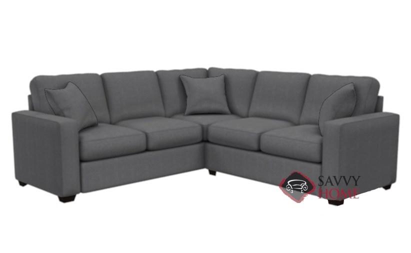 ... The 702 True Sectional Sofa By Stanton In Hayden Marmor
