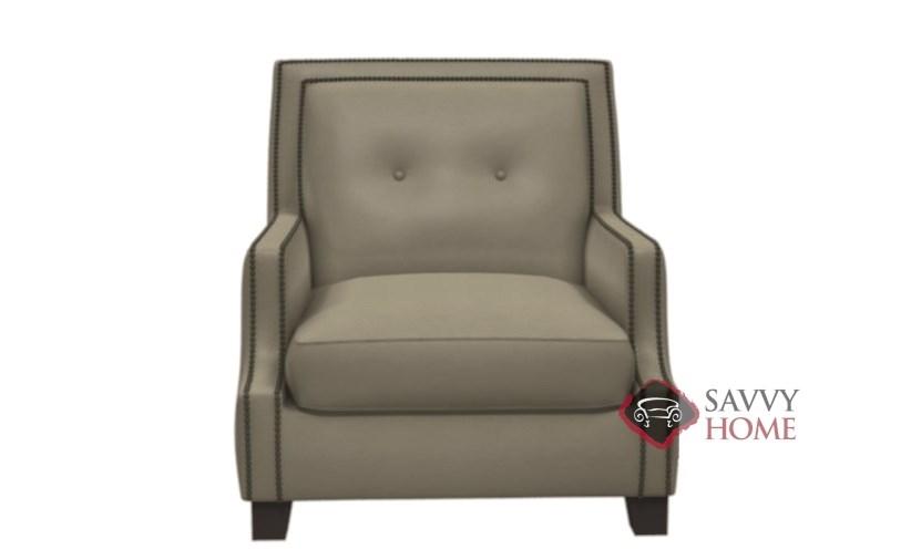 Gentil Franco Leather Arm Chair By Bernhardt Interiors