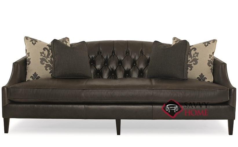 Diane Leather Sofa By Bernhardt Interiors