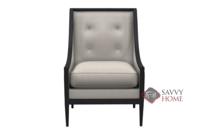 Magnificent Henderson Leather Arm Chair With Down Blend Cushions By Bernhardt Interiors Download Free Architecture Designs Photstoregrimeyleaguecom