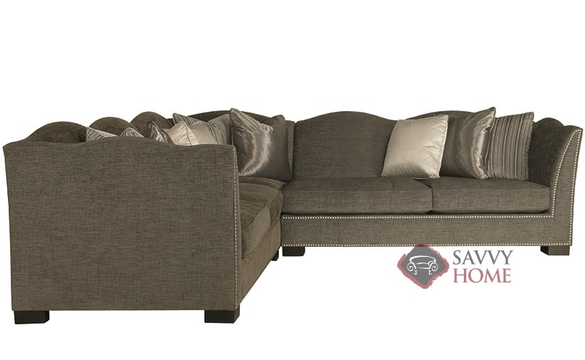 Kirkland True Sectional With Down Blend Cushions By Bernhardt Interiors