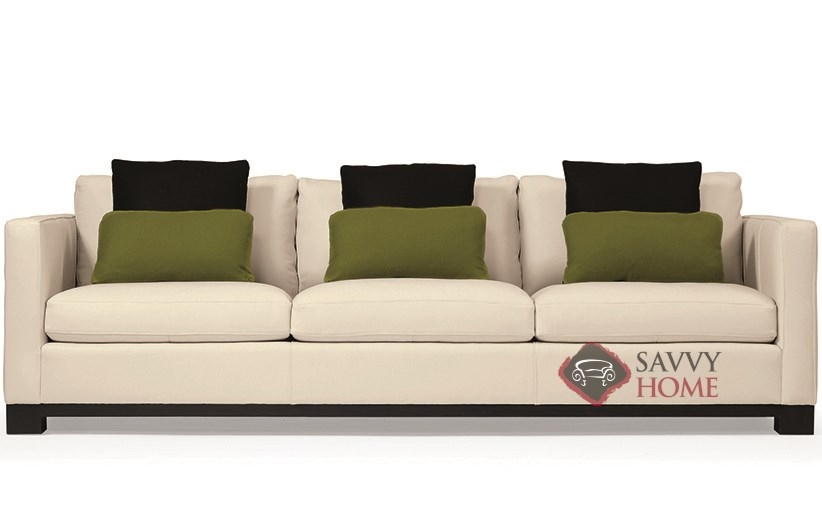 Lanai Large Sofa with Down-Blend Cushions by Bernhardt Interiors