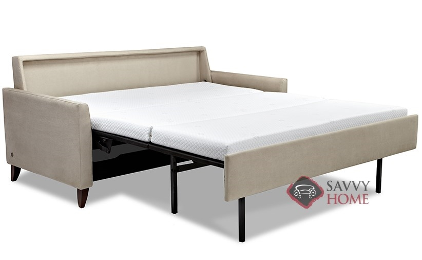 Harris Comfort Sleeper By American Leather Open