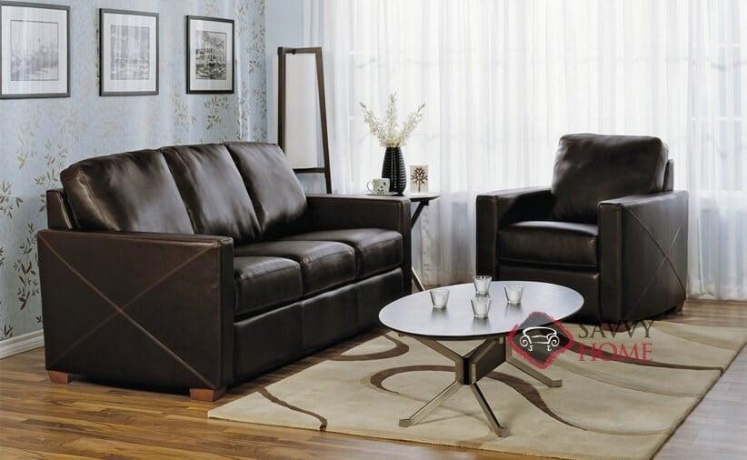 Carlten Full Leather Sleeper Sofa By Palliser. Zoom. Original ...