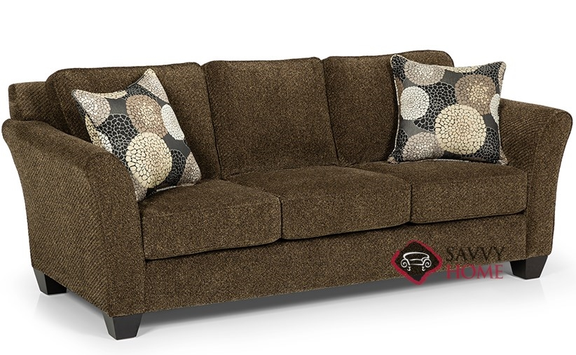 184 Fabric Stationary Sofa By Stanton