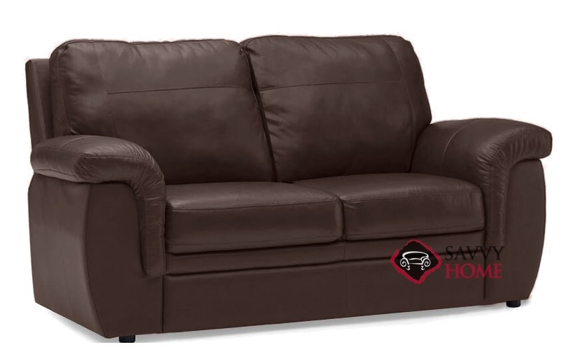 Quick-Ship Brunswick by Palliser Leather Sleeper Sofas Full in Venice  Chocolate by Palliser with Fast Shipping | SavvyHomeStore.com
