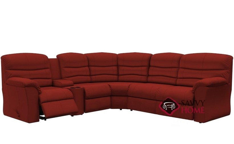 Durant Large Reclining True Sectional Full Sofa Bed with Console by  Palliser--Power Upgrade Available