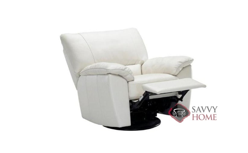 Fantastic Quick Ship Trento B632 Leather Reclining Chair In Le Mans White By Natuzzi With Fast Shipping Savvyhomestore Com Squirreltailoven Fun Painted Chair Ideas Images Squirreltailovenorg