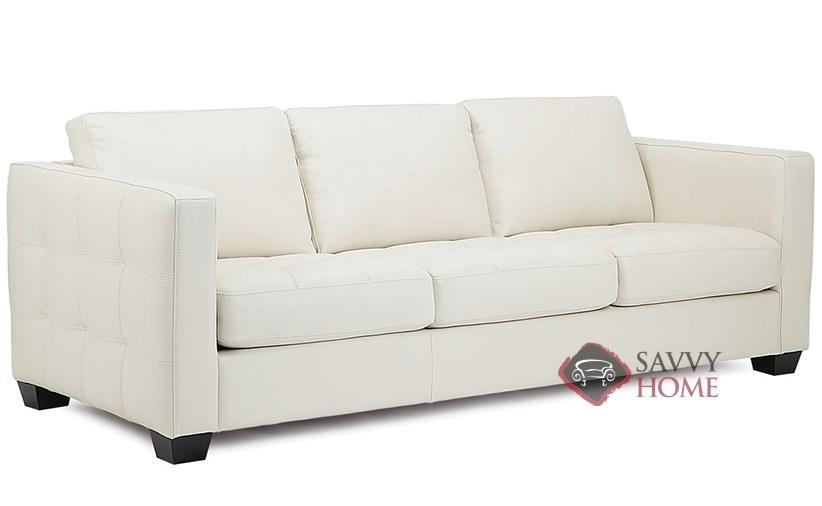 ... Barrett Leather Sofa By Palliser Sideview ...