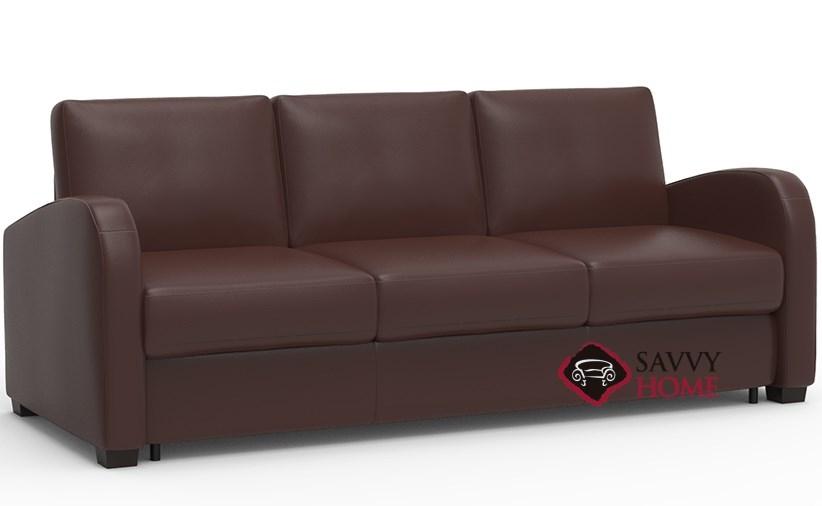 Daydream My Comfort 3 Cushion Queen Leather Sleeper Sofa By Palliser