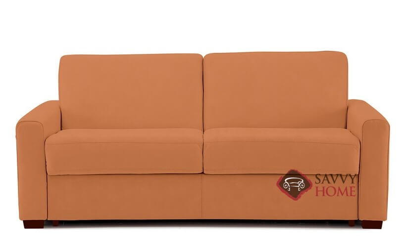 Roommate Full Sleeper Sofa By Palliser In Hush Cinnamon